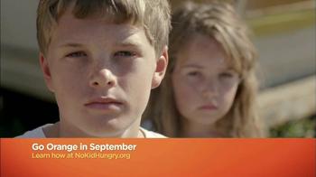 No Kid Hungry TV Spot, 'Go Orange' - Thumbnail 5