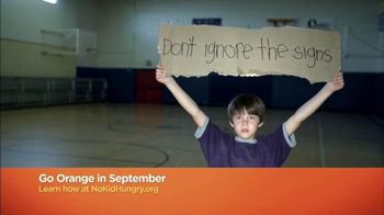 No Kid Hungry TV Spot, 'Go Orange' - Thumbnail 7