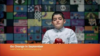 No Kid Hungry TV Spot, 'Go Orange' - Thumbnail 8