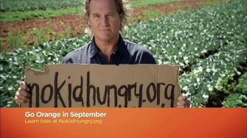 No Kid Hungry TV Spot, 'Go Orange' - Thumbnail 9