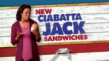 Long John Silver's Ciabatta Jack Sandwiches TV Spot