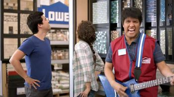 Lowe's TV Spot, 'Back Splash'