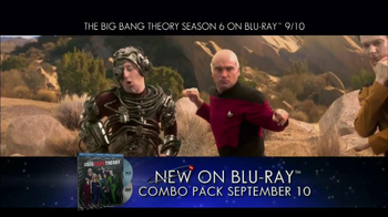 Big Bang Theory Season 6 Blu-ray Combo Pack TV Spot - Thumbnail 1
