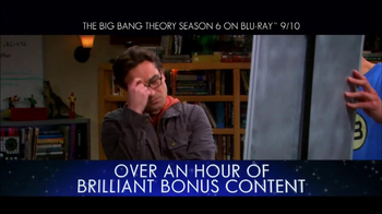 Big Bang Theory Season 6 Blu-ray Combo Pack TV Spot