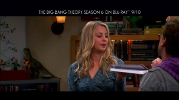 Big Bang Theory Season 6 Blu-ray Combo Pack TV Spot - Thumbnail 7