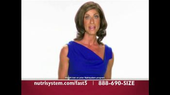 Nutrisystem Fast 5 TV Spot