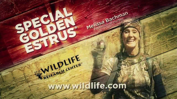 Wildlife Research Center Golden Estrus TV Spot, Feat. Melissa Bauchman