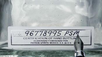 Silver Patron TV Spot, 'Hand Signed' - Thumbnail 8