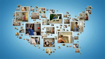 Lysol Disinfectant Spray TV Spot, 'Across America: Christine' - Thumbnail 1