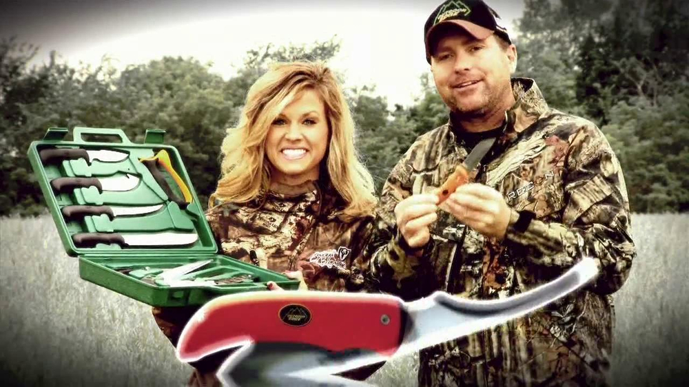 Outdoor Edge Tv Commercial Featuing Pat And Nicole Reeve