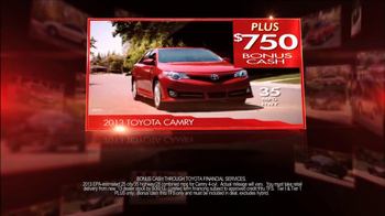 Toyota Camry Clearance Event TV Spot - Thumbnail 5