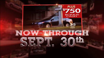Toyota Camry Clearance Event TV Spot - Thumbnail 6