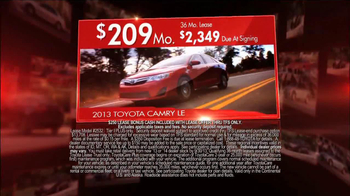 Toyota Camry Clearance Event TV Spot - Thumbnail 7