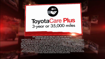Toyota Camry Clearance Event TV Spot - Thumbnail 8