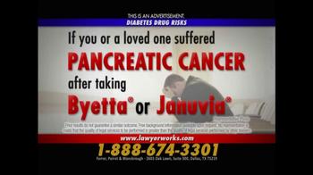 Ferrer, Poirot and Wansbrough TV Spot, 'Pancreatic Cancer' - Thumbnail 7