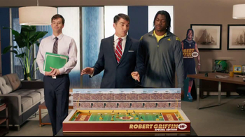 Subway  Turkey Breast TV Spot, 'Get in the Game' Feat. Robert Griffin III - Thumbnail 2