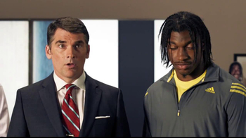 Subway  Turkey Breast TV Spot, 'Get in the Game' Feat. Robert Griffin III - Thumbnail 8