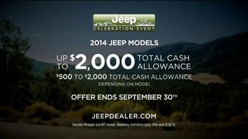 Jeep Celebration Event TV Spot, 'Discovering' - Thumbnail 9