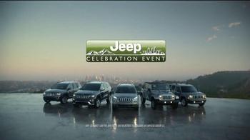 Jeep Celebration Event TV Spot, 'Discovering' - Thumbnail 8