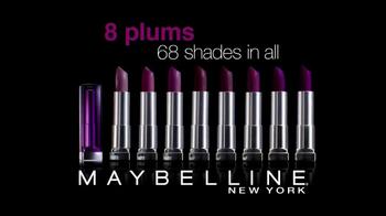 Maybelline New York Colorsensational Plums TV Spot - Thumbnail 9