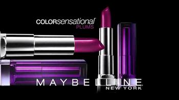 Maybelline New York Colorsensational Plums TV Spot - Thumbnail 3