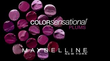 Maybelline New York Colorsensational Plums TV Spot - Thumbnail 8