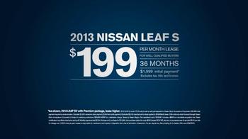 Nissan Leaf TV Spot, '100% Electric' - Thumbnail 9
