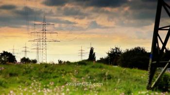 Nissan Leaf TV Spot, '100% Electric' - Thumbnail 1