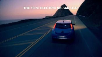 Nissan Leaf TV Spot, '100% Electric' - Thumbnail 8