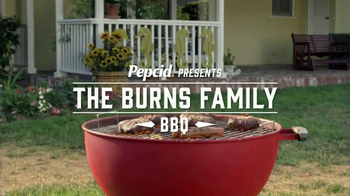 Pepcid Complete TV Spot, 'The Burns Family BBQ' Featuring Richard Riehle - Thumbnail 1