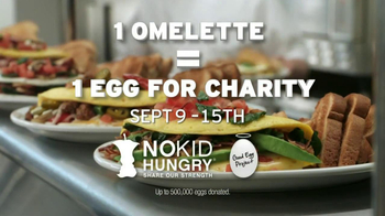 Denny's Build Your Own Omelette TV Spot, 'No Kid Hungry Charity' - Thumbnail 5