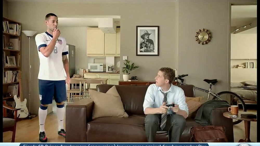 GameStop FIFA 14 TV Commercial, 'Swagger' Featuring Clint Dempsey