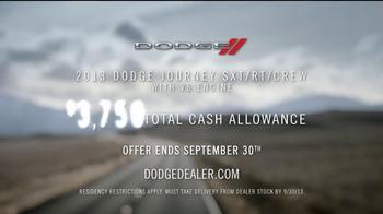 Dodge 7-Passenger Vehicles TV Spot - Thumbnail 10