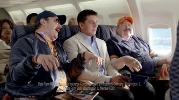 State Farm Discount Double Check TV Spot, 'Turbulence' Feat Aaron Rodgers - Thumbnail 5