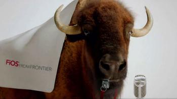 Frontier FiOS Internet TV Spot, 'Buffalo Frank: Pep Rally' - Thumbnail 1