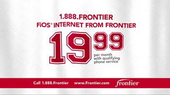 Frontier FiOS Internet TV Spot, 'Buffalo Frank: Pep Rally' - Thumbnail 3