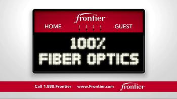 Frontier FiOS Internet TV Spot, 'Buffalo Frank: Pep Rally' - Thumbnail 4