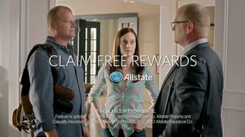Allstate Claim Free Rewards TV Spot, 'Ike' Featuring Mike Holms - Thumbnail 10