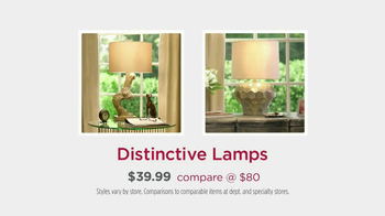 HomeGoods TV Spot, 'Lamps' - Thumbnail 8