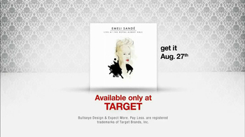 Target TV Spot, 'Emeli Sande: Live at Royal Albert Hall' - Thumbnail 9