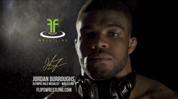 Flips Wrestling TV Spot Featuring Jordan Burroughs
