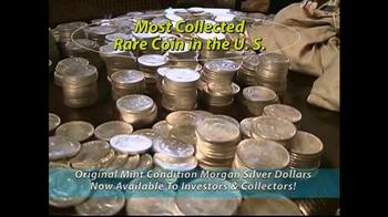 Monaco Rare Coins Morgan Silver Dollars TV Spot - Thumbnail 3