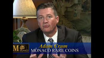 Monaco Rare Coins Morgan Silver Dollars TV Spot - Thumbnail 5