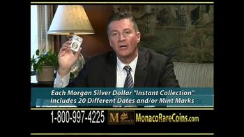 Monaco Rare Coins Morgan Silver Dollars TV Spot - Thumbnail 9