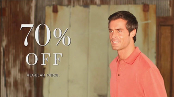 JoS. A. Bank  TV Spot, '70 Percent Off' - 105 commercial airings