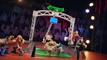 WWE Power Slammers Wrecking Brawl Playset TV Spot - Thumbnail 3