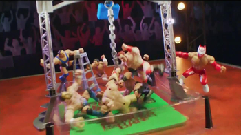 WWE Power Slammers Wrecking Brawl Playset TV Spot - Thumbnail 5