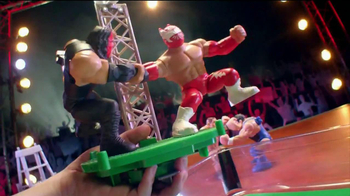 WWE Power Slammers Wrecking Brawl Playset TV Spot - Thumbnail 6