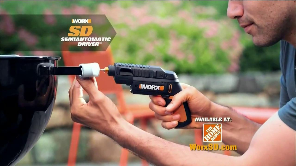 Worx SD Semi-Automatic Driver TV Commercial, 'Right Tool'