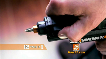 Worx SD Semi-Automatic Driver TV Spot, 'Right Tool' - Thumbnail 6